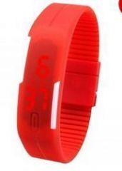 Rectangle Shape Digital LED Watch