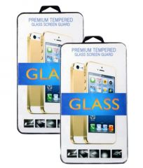 Tempered Glass Screen Protector For Samsung Galaxy A8 Pack Of (2)