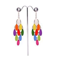 Sanaa Creations Fashion Jewellery Stylish Fancy Party Wear Traditional Crystal Drop Earrings for Girls