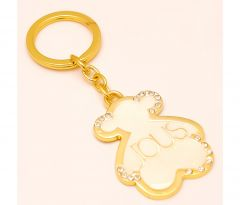 Sanaa Creations Multi Use Of Cream Colour  Ious Teddy Shape Keychain/Pendant-(Product Code-1KP30)
