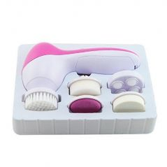 Chericare Portable Anti-aging 5 In 1 Electric Facial Brush Face Spa Skin Care Brush Massager Scrubber-deeply Cleaning Skin-exfoliating Dead Skin Cells