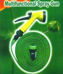 Furnishings (Misc) - Garden Watering 7.5m Hose Pipe & Water Spray Gun