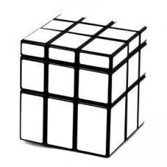 Magic Mirror Cube Silver Rubik's Puzzle Game