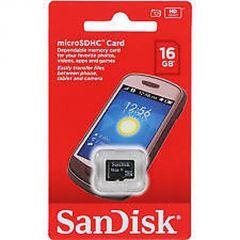Sandisk 16GB Microsd Card Micro SD Msd Class 4 Bill Sealed Pack 5yr 16 GB