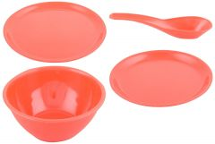 Denso Microwave Safe Plates, Bowls, Casseroles, Dinner Set (Set Of 32 Pcs)