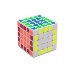 Emob Neon Rubik Cube With 5x5x5 Speed Puzzle Magic Ultra Smooth Twist