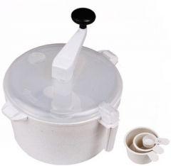 Ebig Shopping Detachable Plastic Dough Maker White