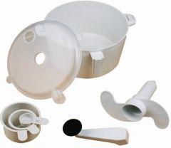 Ebig Shopping Plastic Spiral Dough Maker(Multicolor)