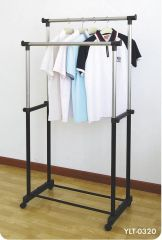 Unique Cartz Premium Double Pole Telescopic Cloth Drying Stand Rack Upto 25 KG