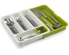 Unique Cartz Drawer Organizer Expandable Cutlery Tray