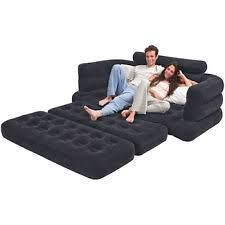 Intex Inflatable Full Size Pull-out Sofa Cum Bed With Pump