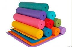 Home Basics Anti Skid Yoga Mat 6mm Thick Washable Fitness Exercise Non-slip Surface