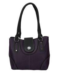 Handbags - Right Choice Designer Purple handbag
