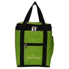 Right Choice Green color Lunch Bag with Water Bottle Pouch