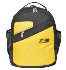 Right Choice Yellow and Black Color Backpack