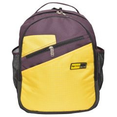 Right Choice Yellow and Maroon Color Backpack