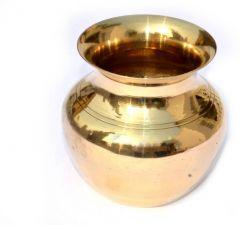 Lota/Kalash For Pooja Pure Brass Lota