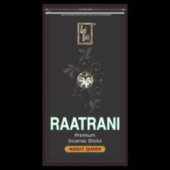 Prayer Accompaniments - Zed Black RaatRani Insence Stick Zipper Pack 250gm With Agarbatti Stand/Holder