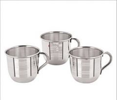 Vadilal's Stainless Steel Set Of 6 Cup / Mug