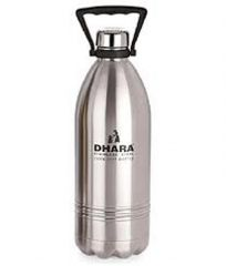 Dhara Stainless Steel Cool - Hot Water Bottle 1800 ml / Bottle Cum Flask