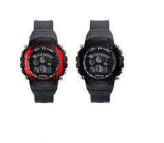 W Watches - Kids watch Black & Red
