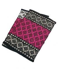 Peponi Red Color Hand Woven Door Mat Set of 2