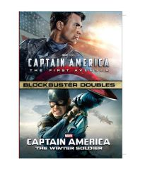 Action Movies (English) - Captain America 1 and 2 - DVD (English)