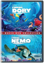 Children's Movies (English) - Finding Nemo and Finding Dory - DVD