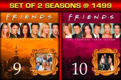 Hindi Movies - FRIENDS: THE COMPLETE SEASON 9 / FRIENDS: THE COMPLETE SEASON 10 - BD