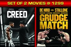 English Movies - CREED / GRUDGE MATCH - BD