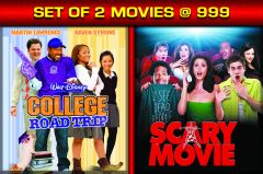 English Movies - College Road Trip / SCARY MOVIE  - BD