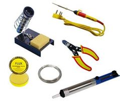 Tu Technology Uncorked 7 In 1 Soldering Starter Kit