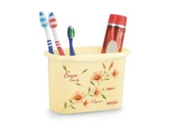 Milton Home Decor & Furnishing - Milton Elegance Tooth Brush Holder-2 PCs Set
