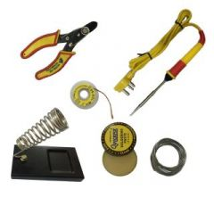 6 in1 Soldering Iron Kit with Wire Stripper
