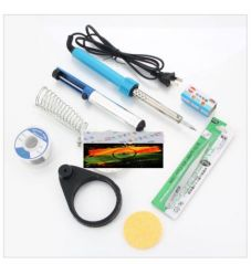 Desolder Pump Tweezer-7 In1 Electric Solder Tool Kit Set W/ Soldering Iron