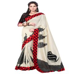 Vipul Silk Sarees - Vipul Branded Designer Bhagalpuri silk Lace Border Catalog Saree(Product Code)_11511