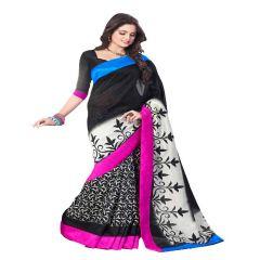 Vipul Branded Designer Bhagalpuri silk Lace Border Catalog Saree(Product Code)_11520