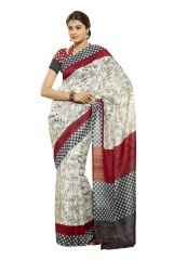 Vipul Silk Sarees - Vipul Womens Bhagalpuri silk Saree (Multicolor)(Product Code)_13139