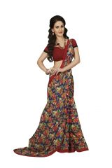 Vipul Womens Georgette Saree (Multicolor)(Product Code)_13427
