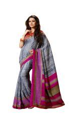 Vipul Silk Sarees - Vipul Womens Bhagalpuri silk Saree (Multicolor)(Product Code)_13641