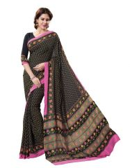 Vipul Womens Crepe Saree (Multicolor)(Product Code)_13911