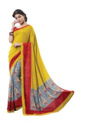 Vipul Womens Crepe Saree (Multicolor)(Product Code)_13912