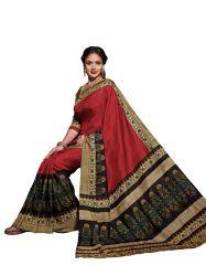 Vipul Silk Sarees - Vipul Womens Bhagalpuri silk Saree (Multicolor)(Product Code)_14303