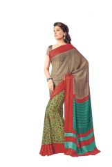 Vipul Womens Georgette saree (Multicolor)(Product Code)_14637
