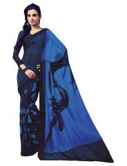 Vipul Womens Crepe saree (Multicolor)(Product Code)_14727