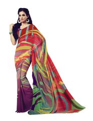 Vipul Womens Crepe saree (Multicolor)(Product Code)_14733