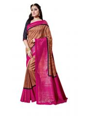 Vipul Multicoloured Bhagalpuri Saree with blouse piece (Code - 14917)