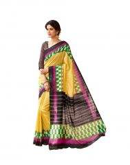 Vipul Multicoloured Art Silk Saree with blouse piece (Code - 15932)