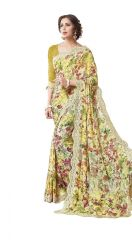 Vipul Multicoloured Georgette Saree with blouse piece (Code - 16610)