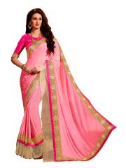 Vipul Multicoloured Georgette Saree with blouse piece (Code - 3318)